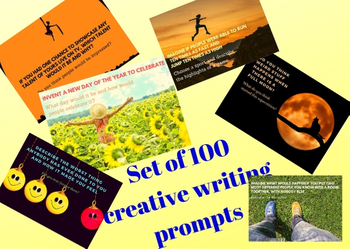 Creative Writing - 100 Prompts (part-1)