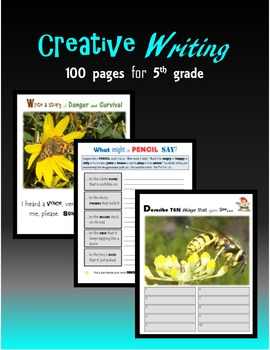 Creative Writing:  100 pages for 5th grade