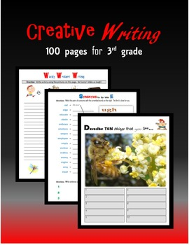 Creative Writing:  100 pages for Third grade