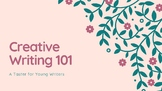 Creative Writing 101- A Taster for Young Writers (Presentation)