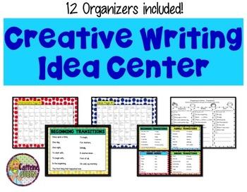 Creative Writing Story Starter Prompts & Organizers Kit