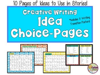 Creative Writing With Writing Prompts and Story Starters and Reference Posters