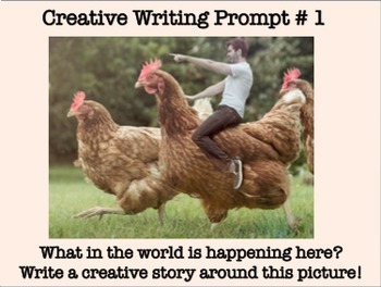 Creative Writing: 25 Absolutely Amazing  and Engaging Prompts