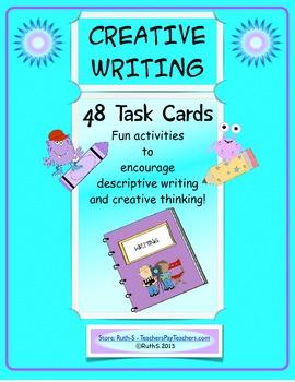 Creative Writing 48 Task Cards