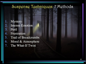 Creative Writing: 7 Suspense Techniques