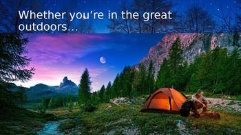 Creative Writing - A Camping Adventure