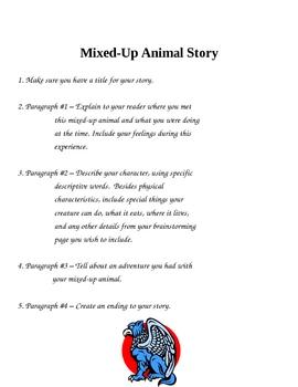 Creative Writing - A Mixed-Up Animal