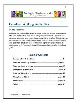 Creative Writing Activities