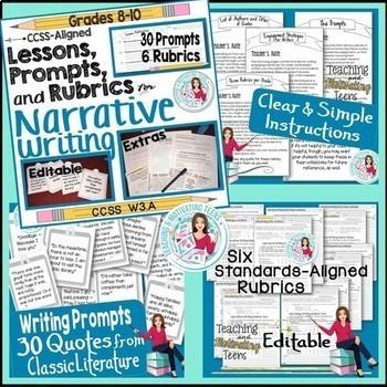 Creative Narrative Writing Activities Relevant to Teens