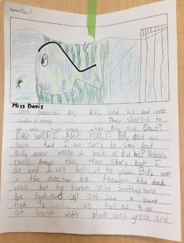 Squiggle Writing - Creative Writing Activity
