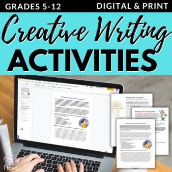 Creative Writing - Writing with Purpose - Entertain, Inform, Persuade