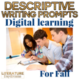 Digital Writing Prompts for Autumn Fall