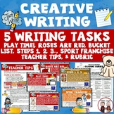 Creative Writing Activity Five Activities Sport Franchise Poetry Writing...