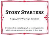 Creative Writing Activity: Story Starters Using Photographs