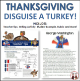 Thanksgiving Writing Activity Disguise a Turkey