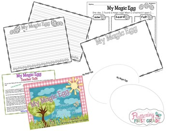 Creative Writing Activity for Developing Writers ~ My Magic Egg