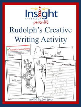 Creative Writing Activity with Rudolph the Red Nosed Reindeer