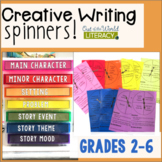 Creative Writing Activity with Spinners