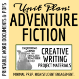 High School Creative Writing - Adventure Story (Developing Sensory Language)