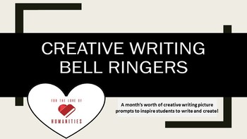 Creative Writing Bell Ringers 2