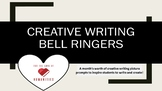 Creative Writing Bell Ringers