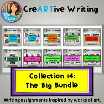 Creative Writing Big Bundle: Christmas, Valentine's, Thank