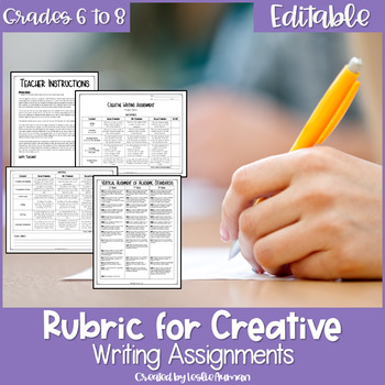 Creative Writing Book Chapter Extension Rubric