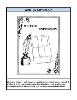 Creative Writing Bulletin Board Activities