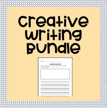 Creative Writing Prompts Bundle (Kindergarten-3rd Grade)