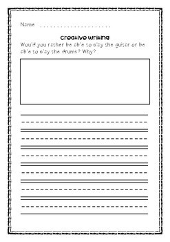 creative writing for grade 2 pdf