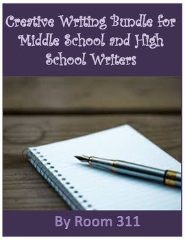 Creative Writing Bundle for Middle School and High School Writers