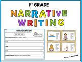 First Grade Narrative Writing Center: Fictional Narrative