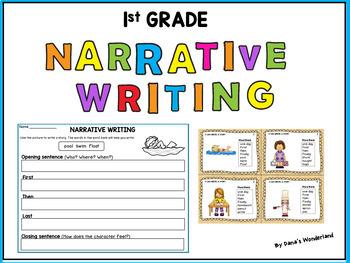 first grade narrative writing center fictional narrative by dana 39 s wonderland. Black Bedroom Furniture Sets. Home Design Ideas