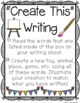 Creative Writing Centers Set {Primary}