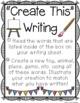 Creative Writing Centers Set {Primary}
