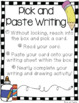 Creative Writing Centers Set {Intermediate}
