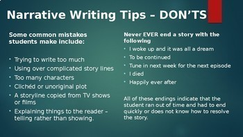 Creative Writing Advice, Examples, Tasks, Structural and Language Devices