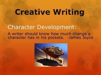 Creative Writing:  Character Development