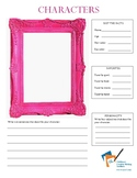 Creative Writing Character Worksheet