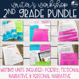 Writer's Workshop Bundle - Grade 2 (Poetry, Personal, and