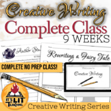 Creative Writing: Complete 9-Week Class