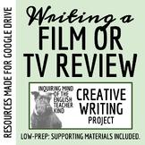Creative Writing - Complete Movie Review / Critique Unit
