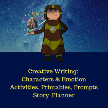 Realistic Characters & Emotion: Creative Writing Activities for 15 to 18 yrs