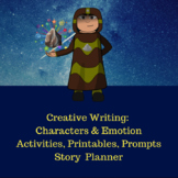Realistic Characters & Emotion: Creative Writing Activitie