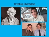 Creative Writing - Creating a character
