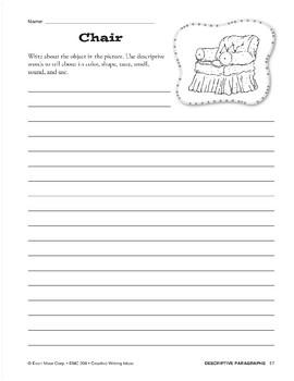 Creative Writing-Descriptive Paragraphs (Describing Objects)