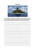 Creative Writing - Deserted Island