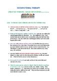Creative Writing Development Ideas