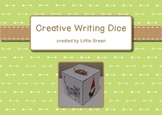 Creative Writing Dice - a game for a literacy center or th