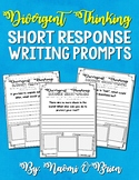 Creative Writing: Divergent Thinking Writing Prompts